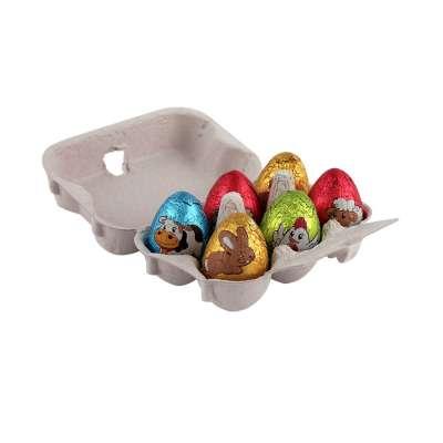 Boite 6 oeufs de Pâques assortis