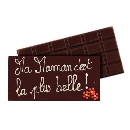Tablette au chocolat au lait à personnaliser