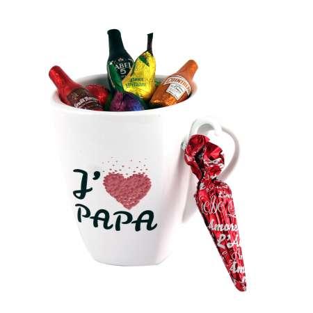 Mug J'aime Papa pralinés et liqueurs