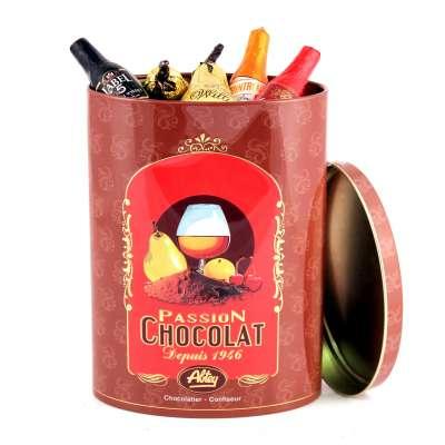 Boite Cacao Chocolats Liqueurs