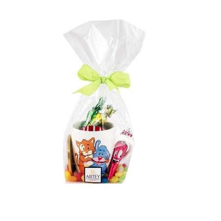 Mug Chien Chat garni de chocolats