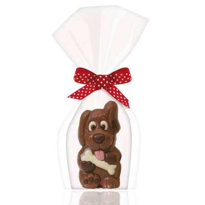 Moulage Dog le chien (au chocolat au lait décoré)