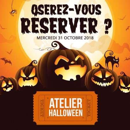 Atelier Halloween : Samedi 27 Octobre 2018 à 14h00