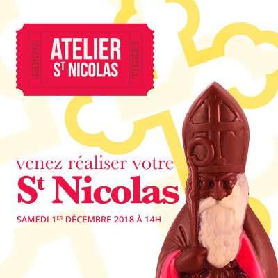 Atelier St Nicolas : 1er décembre 2018 à 14h00