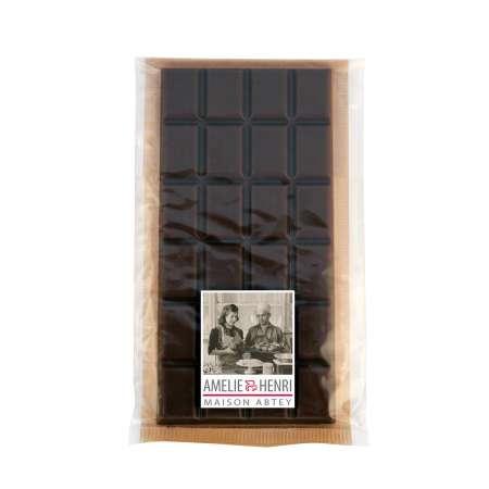 Tablette en chocolat noir 70% de cacao