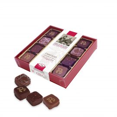 Boîte 12 Bouchées gourmandes au Chocolat