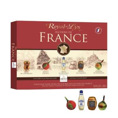 Boîte Royal des Lys Alcools de France