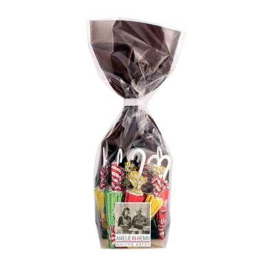 Sachet Les Petits Parapluies de Noël au chocolat au lait