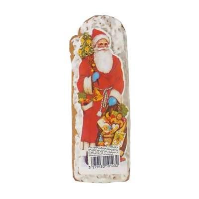 Père Noël en pain d'épices glacé au sucre