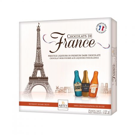 Boîte Chocolats de France (Cointreau® Camus® Saint James)