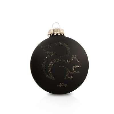 Boule de sapin de Noël Décorative Chocolat Abtey