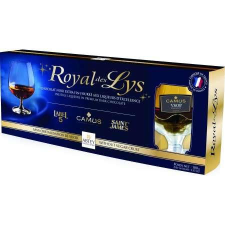 Etui Verres Liqueur Royal des Lys