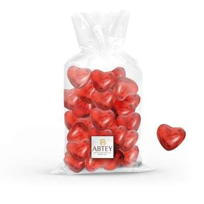 Vrac coeur chocolat praliné