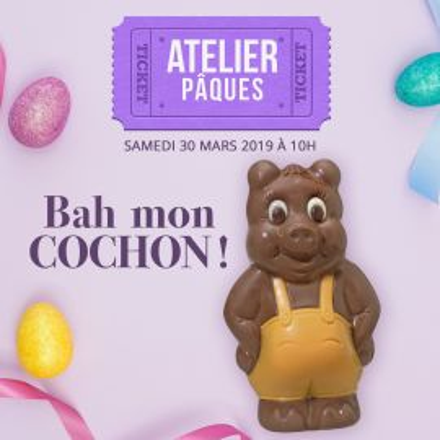Atelier Pâques : Samedi 30 mars 2019 à 10h00