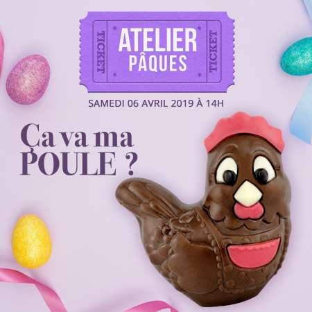 Atelier Pâques : Samedi 6 avril 2019 à 14h00