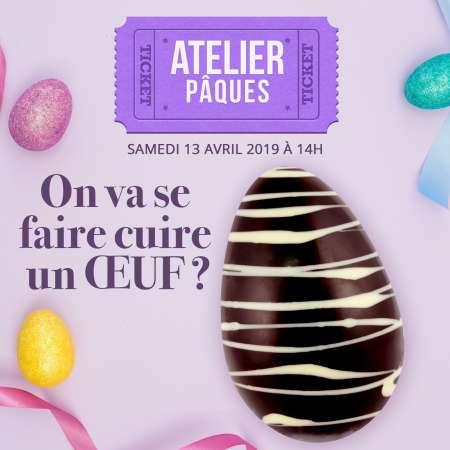 Atelier Pâques : Samedi 13 avril 2019 à 14h00