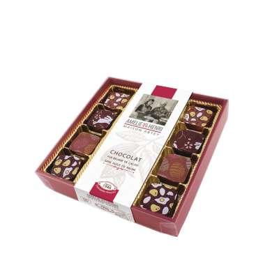 Boîte Chocolats Bouchées Gourmandes de Pâques (95g)