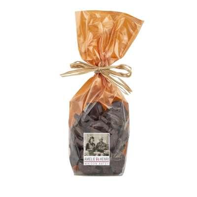 Friture croustillante au chocolat noir