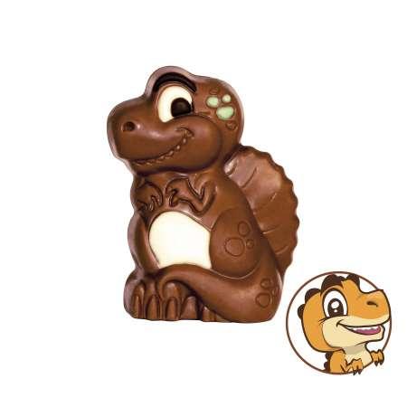 Moulage Dinosaure Igor Le Chocosaure au chocolat au lait