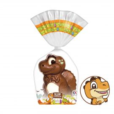 Moulage Dinosaure Igor Le Chocosaure (au chocolat au lait))