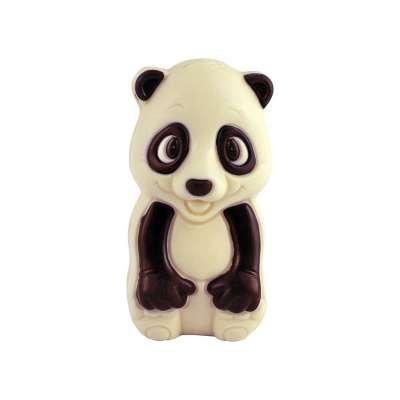 Moulage Guang le Panda (au chocolat blanc décoré)