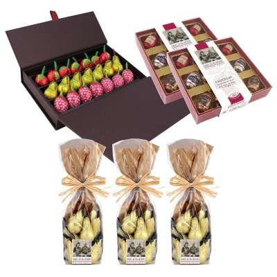 L'assortiment Chocolats Liqueurs de Pâques en LIVRAISON OFFERTE !