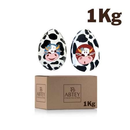 Vrac 1 Kg Oeuf de Vache (au chocolat au lait)