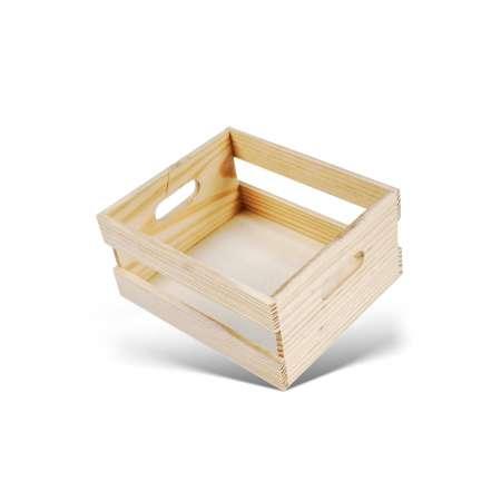 Mini cagette en bois