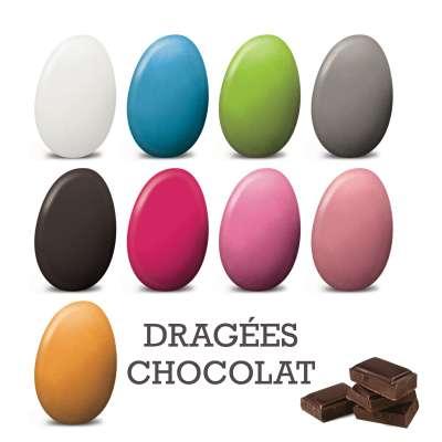 Dragées chocolat (100g)