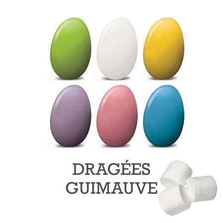 Dragées guimauves (100g)