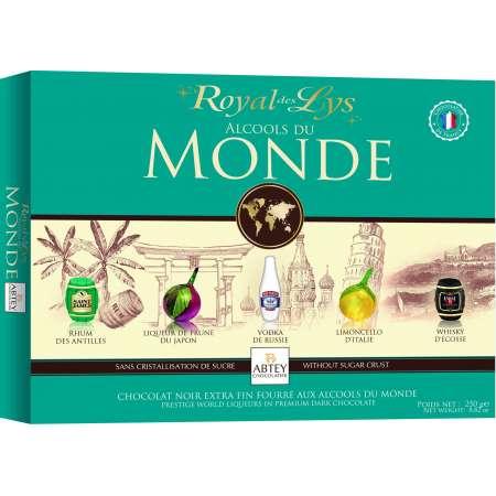 Boîte Royal des Lys Alcools du Monde