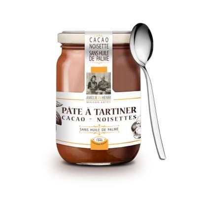 Pâte à tartiner Cacao - Noisettes sans huile de palme