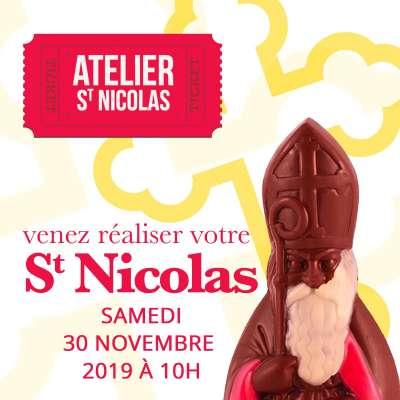 Atelier St Nicolas : Samedi 30 novembre 2019 à 10h00