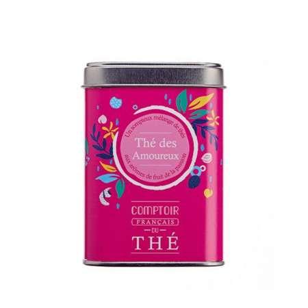 Boîte métal thé des Amoureux