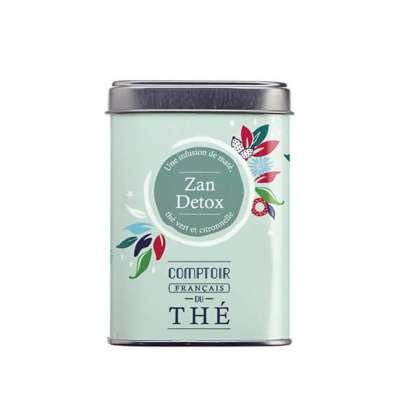 Boîte métal thé Zan Detox