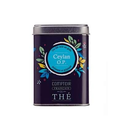 Boîte métal thé Ceylan O.P.