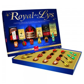 Boite chocolat liqueur Royal des Lys