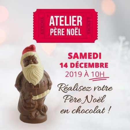 Atelier Père noël : Samedi 14 décembre 2019 à 10h00