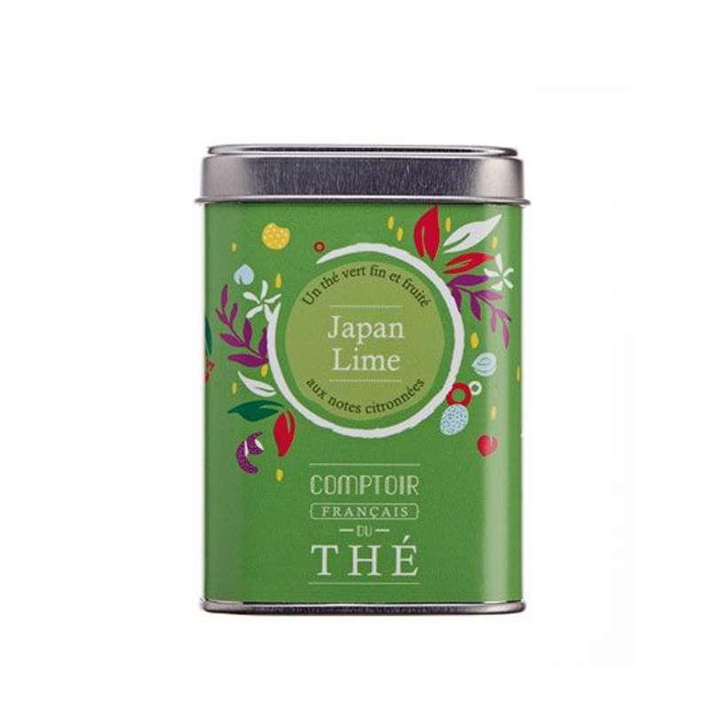 Boîte métal de thé Japan Lime