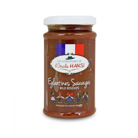 Confiture Extra Eglantines Sauvages de France L'Oncle Hansi
