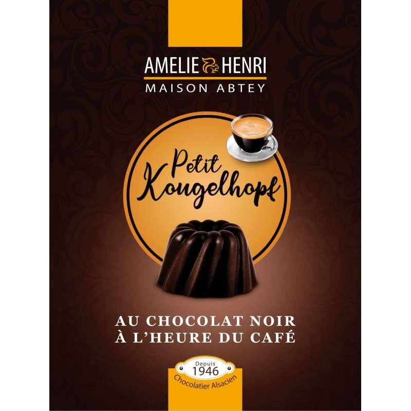 Sachet de Kougelhopfs au chocolat noir pour le café