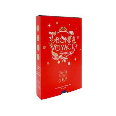 Assortiment de 20 sachets de thé Bon Voyage du Comptoir Français du Thé