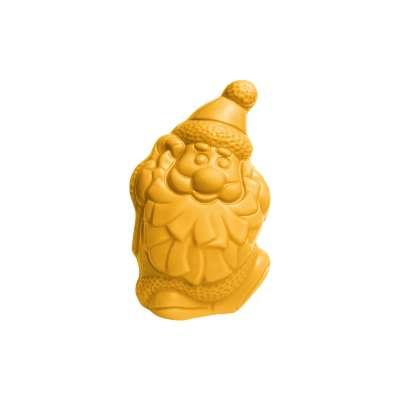 Père Noël Banane (au chocolat blanc coloré et aromatisé)