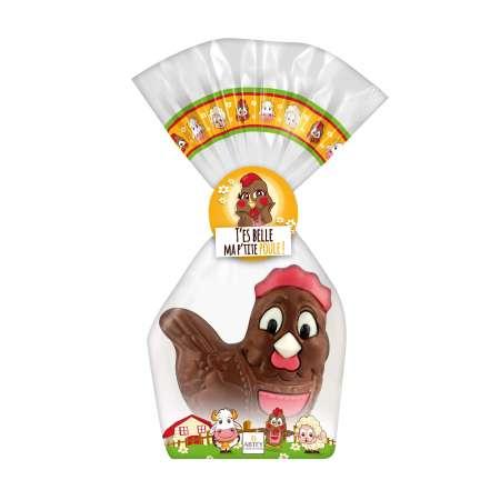 Cadeau Moulage Suzy la Poule (au chocolat au lait)