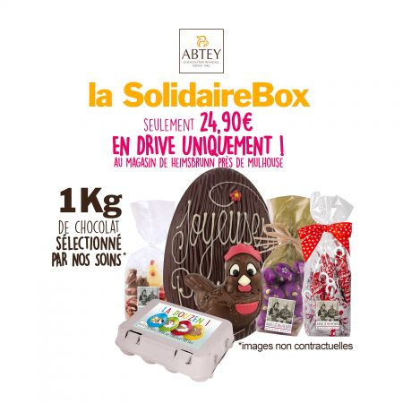 SolidaireBox 1 Kg (en drive uniquement à Heimbrunn/Mulhouse)