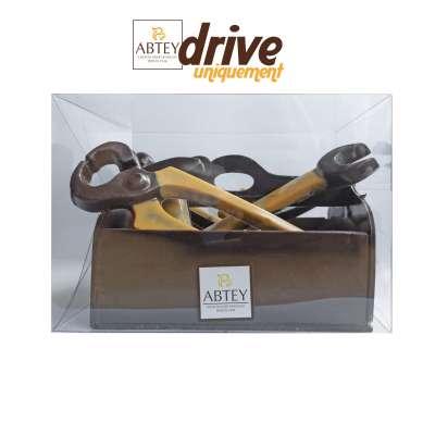 Caisse à outils au chocolat noir décoré EN DRIVE UNIQUEMENT (330g)