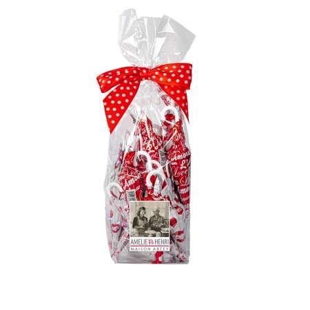 Sachet 9 Parapluies LOVE (au chocolat au lait)