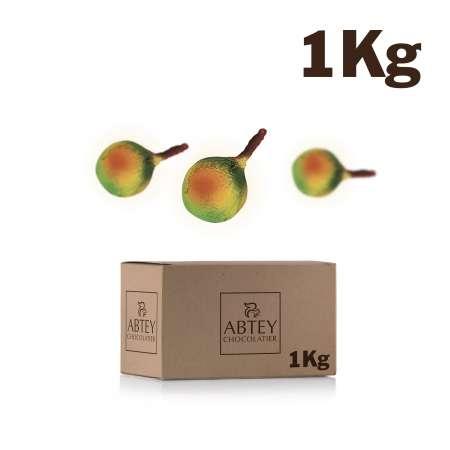 Vrac 1 kg liqueur d'eaux de vie de Pommes Calvados (chocolat noir fourré)