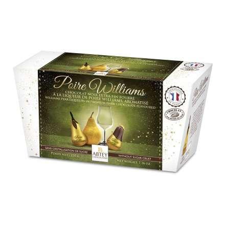 Ballotin 11 Poires Williams (Chocolats à la liqueur de Poire Williams)