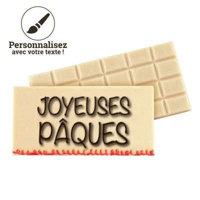 Tablette au chocolat blanc...